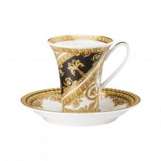 Rosenthal Versace I love Baroque Espresso-/Mokkatasse 0,09 L mit Untertasse 2-tlg.