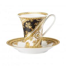 Rosenthal Versace I love Baroque Kaffeetasse 0,18 L mit Untertasse 2-tlg.