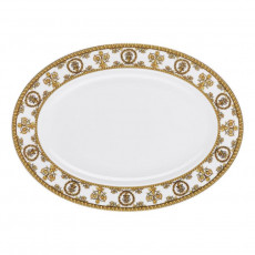 Rosenthal Versace I love Baroque - Bianco Platte 34x24,5 cm