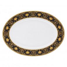 Rosenthal Versace I love Baroque - Nero Platte 40,5x30 cm