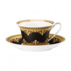 Rosenthal Versace I love Baroque - Nero Teetasse 0,22 L mit Untertasse 2-tlg.