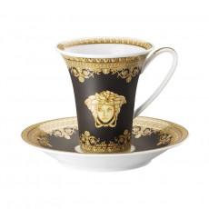 Rosenthal Versace I love Baroque - Nero Kaffeetasse 0,18 L mit Untertasse 2-tlg.