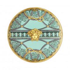 Rosenthal Versace La Scala del Palazzo - Verde Brotteller 17 cm