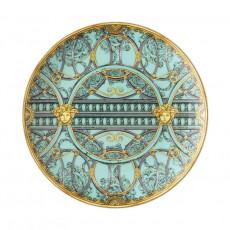Rosenthal Versace La Scala del Palazzo - Verde Frühstücksteller 21 cm