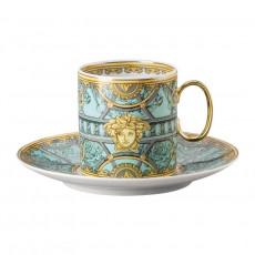 Rosenthal Versace La Scala del Palazzo - Verde Kaffeetasse 0,23 L 2-tlg.