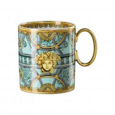 Rosenthal Versace La Scala del Palazzo - Verde Becher mit Henkel 0,30 L