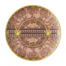 Rosenthal Versace La Scala del Palazzo - Rosa Frühstücksteller 21 cm