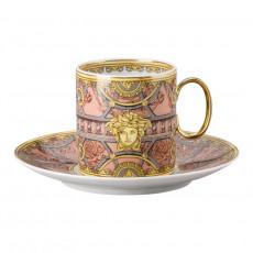 Rosenthal Versace La Scala del Palazzo - Rosa Kaffeetasse 0,23 L 2-tlg.