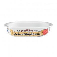 Seltmann Weiden Compact Bayern Auflaufform oval 'Leberkäspfannl' 22 x 14,5 cm