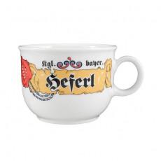 Seltmann Weiden Compact Bayern Kaffee Obertasse 'Heferl' 0,21 L