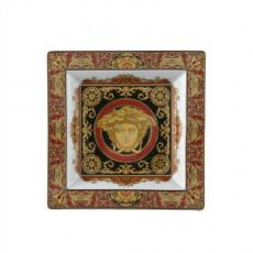 Rosenthal Versace Ikarus Medusa Schale eckig 22 cm