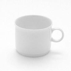 Friesland Jeverland Weiß Kaffee - Obertasse 3 stapelbar 0,19 L
