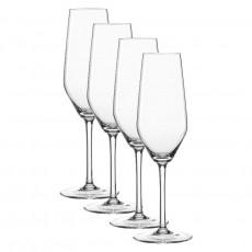 Spiegelau Gläser Style Champagnerglas / Sekt Glas Set 4-tlg. 240 ml
