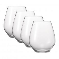 Spiegelau Gläser Authentis Casual Universalbecher XL 4er Glas Set 625 ml