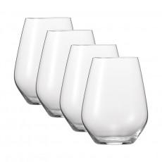Spiegelau Gläser Authentis Casual Universalbecher M 4er Glas Set 420 ml