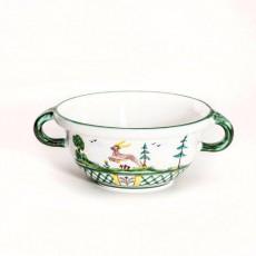 Gmundner Keramik Jagd Weitling 17 cm