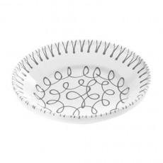 Gmundner Keramik Graugeflammt Reifschüssel ohne Henkel d: 28 cm / h: 6,6 cm