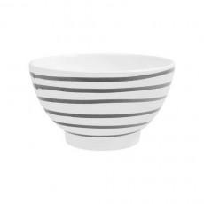 Gmundner Keramik Graugeflammt Müslischale groß d: 14 cm / h: 7,8 cm / 0,4 L