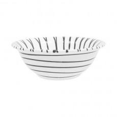 Gmundner Keramik Graugeflammt Salatschüssel d: 20 cm / 0,5 L