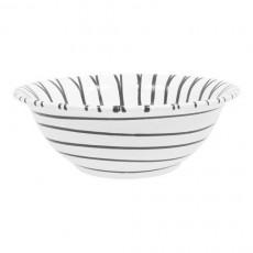 Gmundner Keramik Graugeflammt Salatschüssel d: 33 cm / h: 14 cm / 4,5 L
