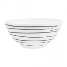Gmundner Keramik Graugeflammt Schüssel d: 27 cm / 2,5 L