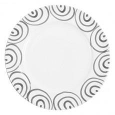 Gmundner Keramik Graugeflammt Speiseteller Gourmet d: 29 cm / h: 2,2 cm