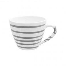 Gmundner Keramik Graugeflammt Kaffee-Obertasse Gourmet 0,2 L / h: 7,5 cm