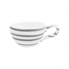 Gmundner Keramik Graugeflammt Mokka-/Espresso-Obertasse glatt 0,06 L / h: 4,1 cm