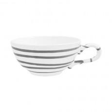 Gmundner Keramik Graugeflammt Tee-Obertasse glatt 0,17 L