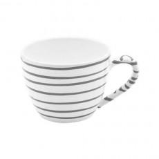 Gmundner Keramik Graugeflammt Tee-Obertasse Maxima 0,40 L