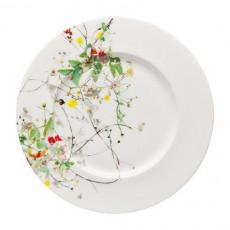 Rosenthal Brillance Fleurs Sauvages Brot-/Frühstücksteller Fahne = Sauciere Untersetzer 19 cm