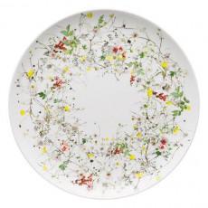 Rosenthal Brillance Fleurs Sauvages Platzteller Coup 32 cm