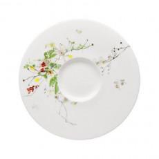 Rosenthal Brillance Fleurs Sauvages Suppen-Untertasse 18,5 cm