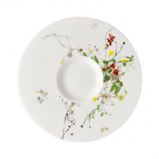 Rosenthal Brillance Fleurs Sauvages Tee-/Cappuccino-/Kombi-Untertasse 16 cm