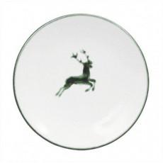 Gmundner Keramik Grüner Hirsch Kaffee-/Tee-Untertasse Cup d: 15 cm / h: 2,5 cm
