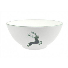 Gmundner Keramik Grüner Hirsch Schüssel d: 23 cm / 1,5 L