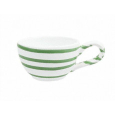Gmundner Keramik Grüngeflammt Mokka-/Espresso-Obertasse glatt 0,06 L / h: 4,1 cm