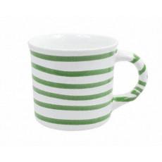 Gmundner Keramik Grüngeflammt Kaffeehäferl glatt 0,24 L / h: 7,8 cm