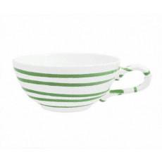 Gmundner Keramik Grüngeflammt Tee-Obertasse glatt 0,17 L