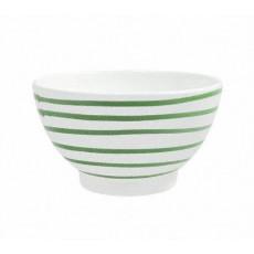 Gmundner Keramik Grüngeflammt Müslischale groß d: 14 cm / h: 7,8 cm / 0,4 L