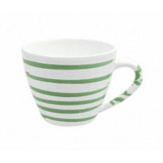 Gmundner Keramik Grüngeflammt Kaffee-Obertasse Gourmet 0,2 L / h: 7,5 cm