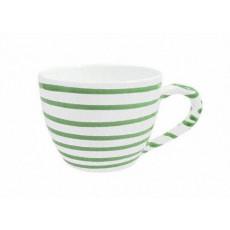 Gmundner Keramik Grüngeflammt Tee-Obertasse Maxima 0,4 L