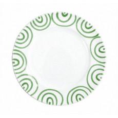 Gmundner Keramik Grüngeflammt Speiseteller Gourmet d: 27 cm / h: 2 cm