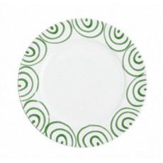 Gmundner Keramik Grüngeflammt Speiseteller Gourmet d: 29 cm / h: 2,2 cm