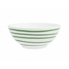 Gmundner Keramik Grüngeflammt Schüssel d: 23 cm / 1,5 L