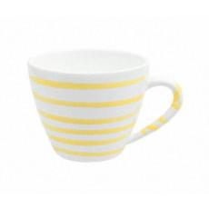 Gmundner Keramik Gelbgeflammt Kaffee-Obertasse Gourmet 0,2 L / h: 7,5 cm