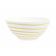 Gmundner Keramik Gelbgeflammt Schüssel d: 20 cm / 1 L