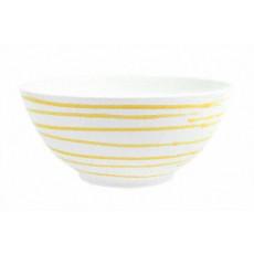 Gmundner Keramik Gelbgeflammt Schüssel d: 23 cm / 1,5 L
