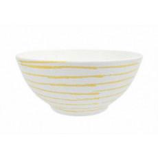 Gmundner Keramik Gelbgeflammt Schüssel d: 27 cm / 2,5 L