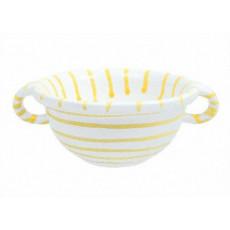 Gmundner Keramik Gelbgeflammt Weitling d: 17 cm / 0,6 L